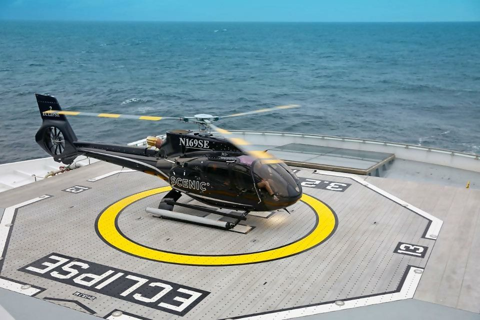 New Ultra-Luxurious Voyage Ship Amazes With Helicopters and Submarine