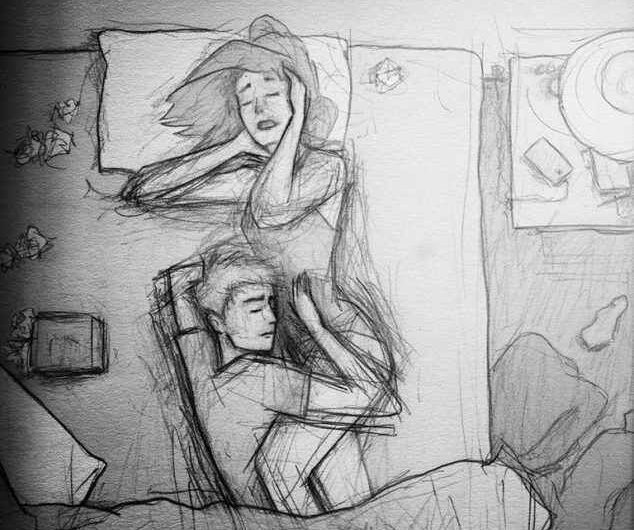 Husband Illustrates Everyday Life With Wife In 40 Pictures, Try Not To Cry!